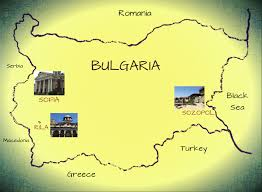 Map Of Bulgaria Maps Of Bulgaria Valentina Borisova