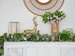 how to make a greenery garland u0026 wreath hgtv