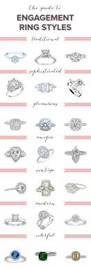 wedding ring types what is your engagement ring style bridal musings
