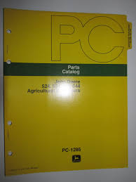 buy john deere 863 agricultural bulldozer dozer parts catalog book