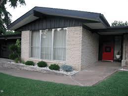 Midcentury Modern Colors Mid Century Modern House Colors Brick Wall U2014 Modern House Plan