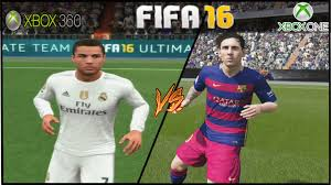 fifa 16 messi tattoo xbox 360 fifa 16 xbox one vs xbox 360 barcelona x real madrid face