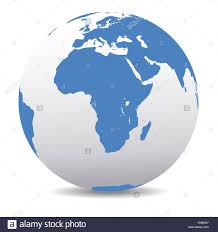 Map Icon Africa Map Icon Of The World Globe Stock Photo Royalty Free Image