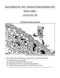 Iron Curtain Political Cartoons Global History Artifact Political Cartoon Skills Quiz 3 Of 4