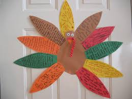 thanksgiving paper crafts kids craft thanksgiving turkey wall hooked on the book