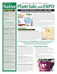 wisconsin native plants list annual newsletter available online whatcom conservation district