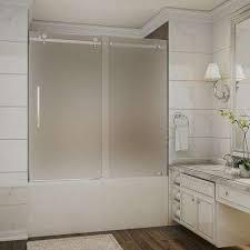 Trackless Bathtub Doors Bathtub Doors Bathtubs The Home Depot