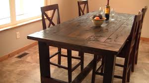 distressed kitchen table is awesome wigandia bedroom collection
