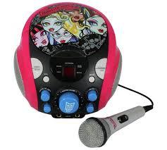 buy monster portable cdg karaoke machine argos uk