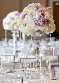 Centerpieces For Wedding Reception Tall Centerpieces For Weddings With Crystals Silver Wedding Theme