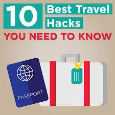 10 best travel hacks kept blog