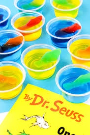 fish two fish jello cups recipe for dr seuss day celebrations