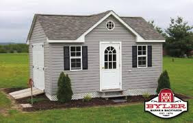shed idea garage small grey cheap shed dormer cost with white door for