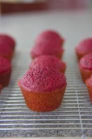 pomegranate velvet cupcakes by the baking robot velvet cupcakes