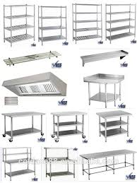 Used Stainless Steel Tables by Steel Work Table With 3 Layers Steel Work Table With 3 Layers