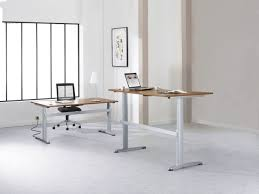 bureau debout assis bureau réglable assis debout eol collaborateurs espace solution