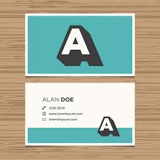 desain kartu nama yang bagus 5 tips design kartu nama yang menarik print online bandung