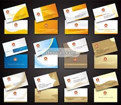 template business card cdr 12 yellow business card design template deoci com vector