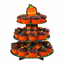 Halloween Cake Supplies Unique Party Halloween Pumpkin Tiered Cupcake Tree Cake Stand