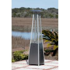 fire sense stainless steel patio heater with adjustable table fire sense pyramid flame 40 000 btu propane patio heater reviews