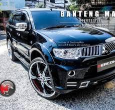 All New Pajero Sport List Kap Mobil Depan Molding Chrome pajero sport product categories banteng page 2