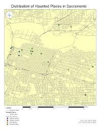 Map Sacramento Haunted Places In Sacramento