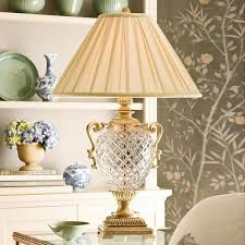 Brass And Crystal Table Lamps Decorative Crafts Table Lamps Lovecup