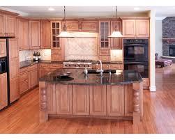 cherry kitchen island kitchen design butcher block countertop black kitchen island