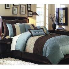 chocolate brown and blue bedding lovetoknow