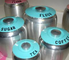 farm pink kromex canisters turquoise u0026 pink love