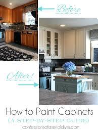 chalk paint or latex on kitchen cabinets auto paint on kitchen