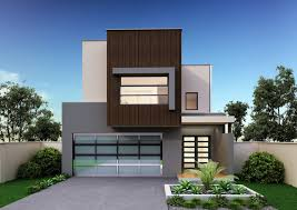 Narrow Modern House Plans Narrow Block Home Designs Of Goodly Contemporary Home Designs