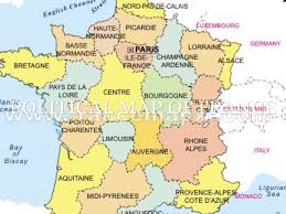 Political Map Of France by France Powerpoint By Connor Smiley
