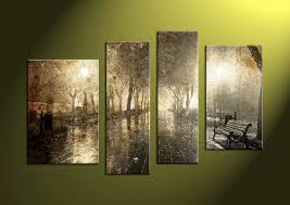 Home Decor Canvas Art by 4 Piece Brown Canvas Nature Wall Art