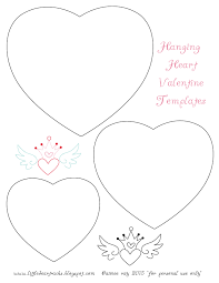 little dear tracks hanging heart valentine