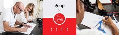 goop x christian louboutin goop