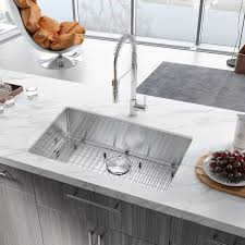 metal kitchen sink and cabinet combo fablise premium stainless steel single bowl undermount 30 x 18 x 9 handmade kitchen sink combo with faucet