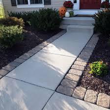Concrete Patio Pavers Pavers Around Concrete Patio Home Design