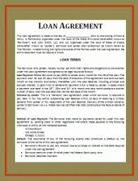 car loan contract template free word templates