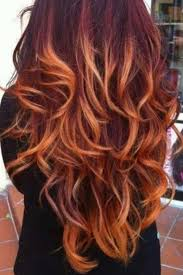 ombre hair 2017 red blue purple blonde i am bored