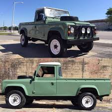 vintage land rover defender relic imports u2014 1984 land rover defender 110 v8 pickup a very