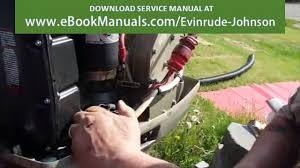 1994 evinrude 30hp outboard motor flv video dailymotion