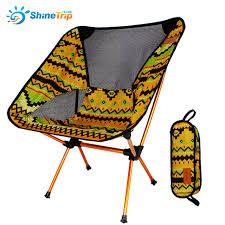 chaise pliante de plage shinetrip léger respirant dossier chaise pliante portable