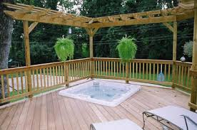 Deck With Pergola by Pergolas U2013 Columbus Decks Porches And Patios By Archadeck Of Columbus
