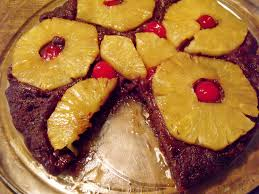 chocolate pineapple upside down cake chocolateparty anniversary