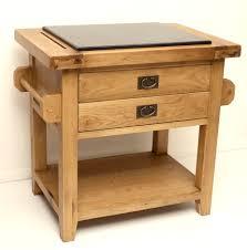 kitchen island oak buy vancouver premium oak kitchen island unit small granite top at