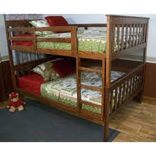 atlantic furniture columbia full over full bunk bed hayneedle