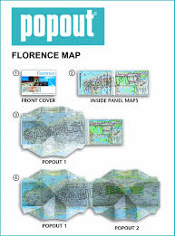 Large Florence Maps For Free by Florence Popout Map Handy Pocket Size Pop Up City Map Of