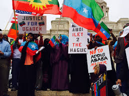 Oromo Flag Ogaden And Oromo Communities Of Minnesota Joined Forces To Protest