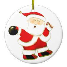 santa bowling ornaments keepsake ornaments zazzle